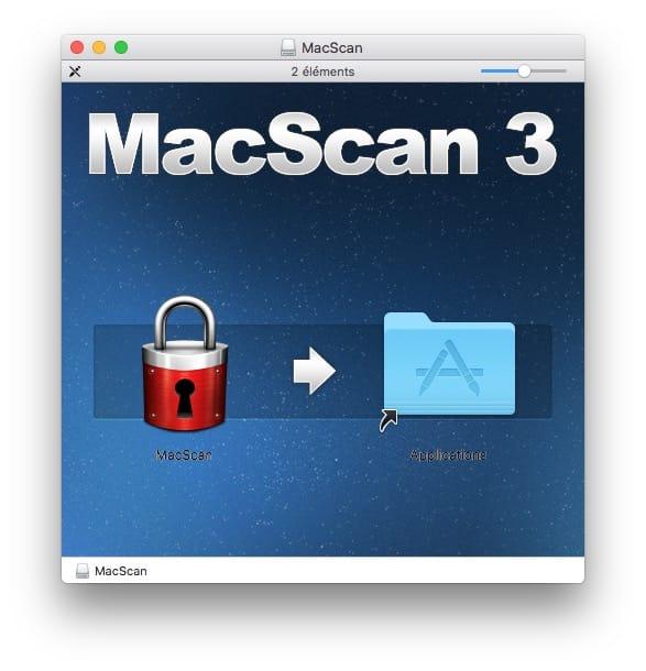 Supprimer les malwares sur Mac avec macscan