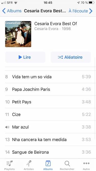 commander musique itunes avec iphone