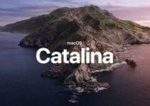 macOS Catalina 10.15.4 disponible pour Mac