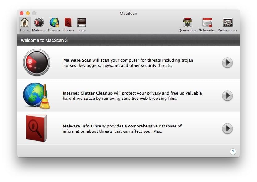supprimer les malwares sur macos