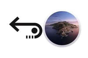 Récupérer des fichiers supprimés sur macOS Catalina 10.15 tutoriel