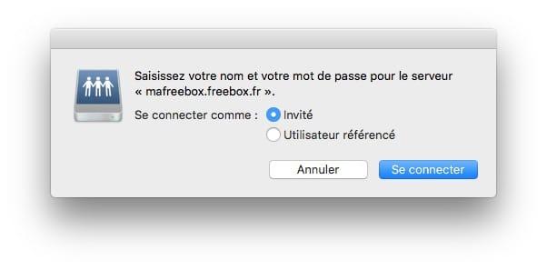 connecter freebox au mac en reseau
