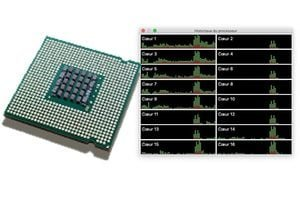 Analyser le CPU du Mac coeurs threads turboboost