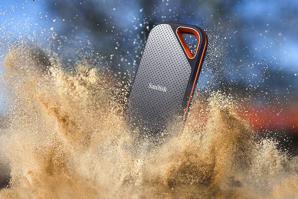 SanDisk Extreme Pro Portable SSD resistant eau et poussiere