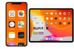 iOS 13.5 iPhone et iPadOS 13.5 iPad maj