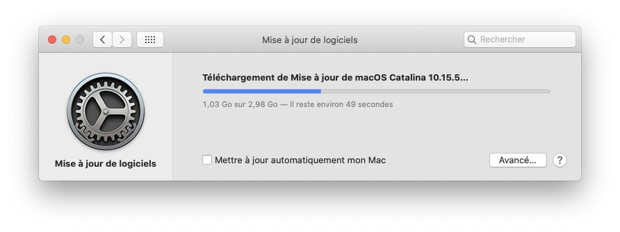 macOS Catalina 10.15.5 telechargement