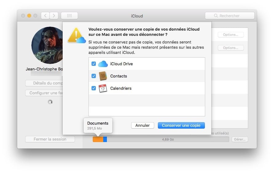 vider contenu mac avant de le vendre