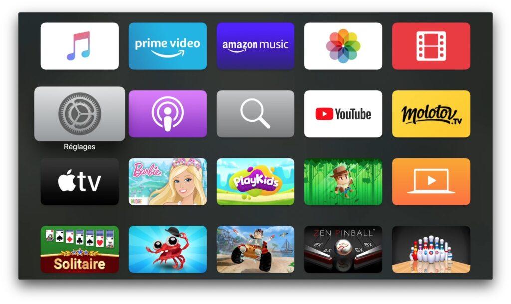 Changer les DNS de son Apple TV parametrer reglages
