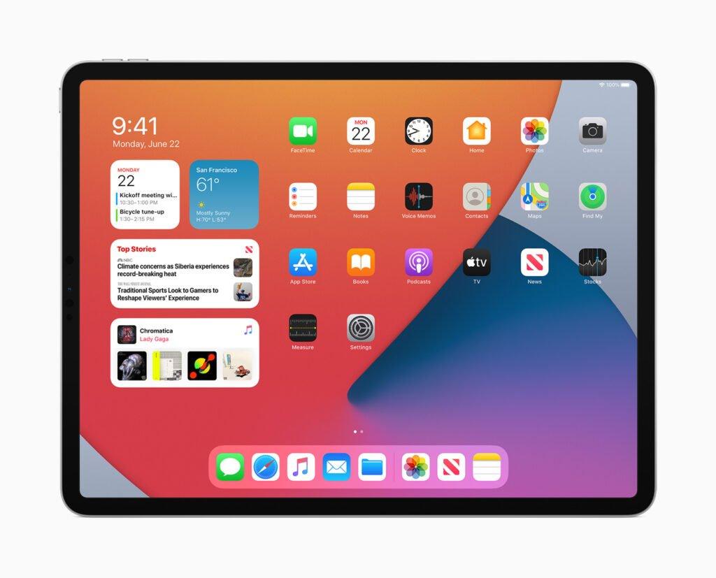 iPadOS 14 iPad compatibles