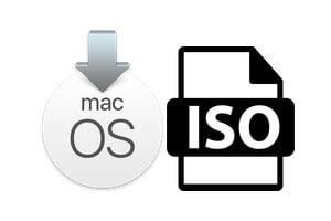Convertir le fichier d'installation macOS en iSO