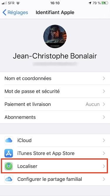 Downgrade iOS 14 Localiser