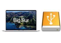 Installer macOS Big Sur sur un disque externe (disque dur, SSD)