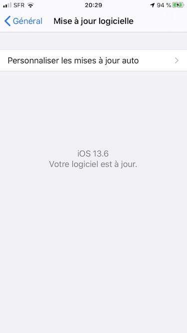 iOS 13.6 iPadOS 13.6