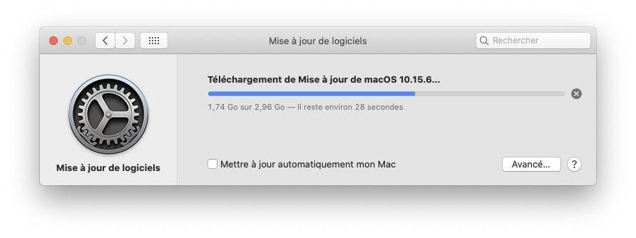 macOS Catalina 10.15.6 download update