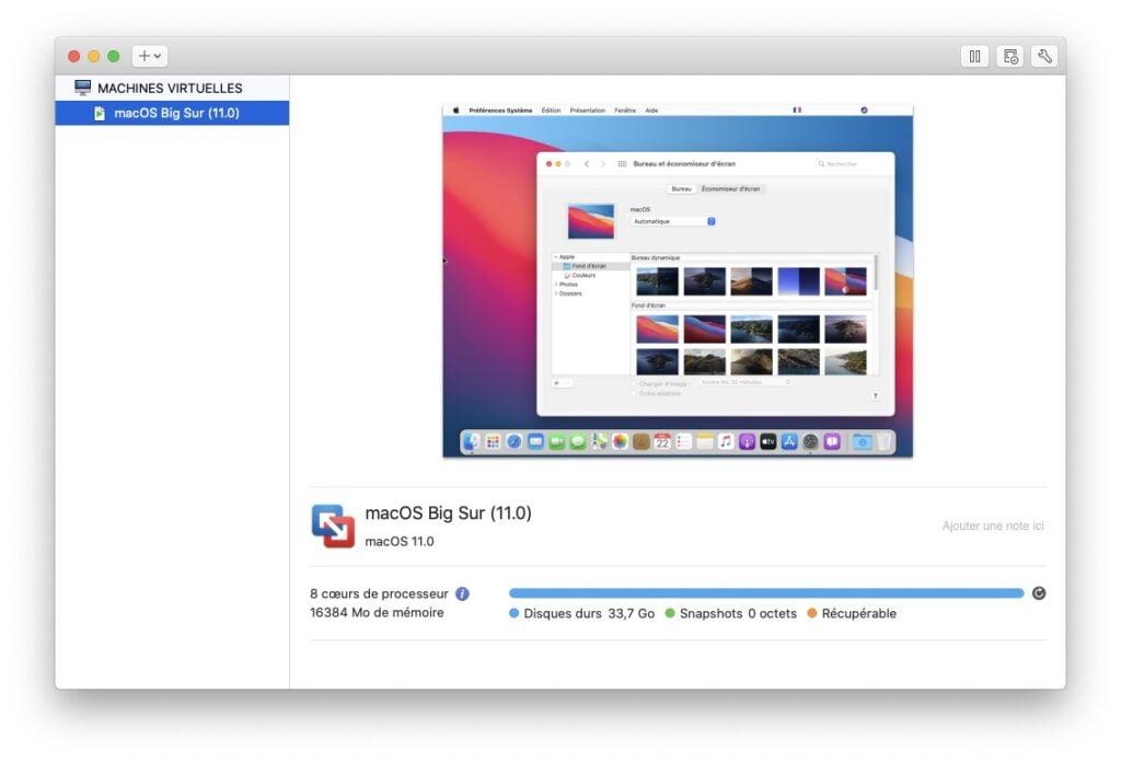 macos big sur 11.0 vmware fusion mac