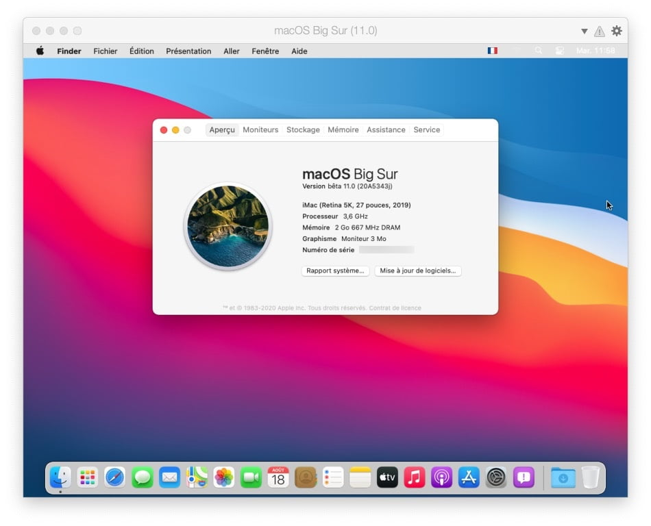 Desktop macOS Big Sur
