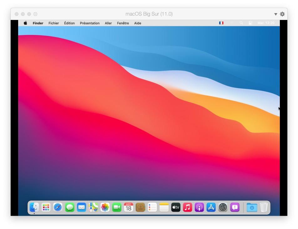 optimisation macOS Big Sur avec Parallels Desktop 16
