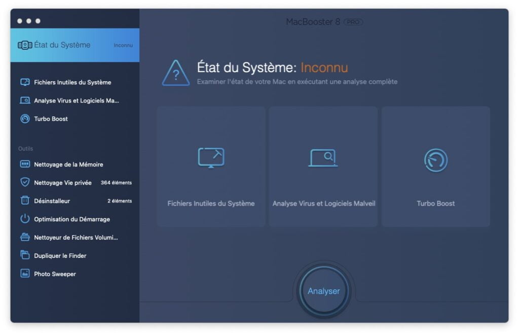 Optimiser macOS Big Sur analyse et nettoyage systeme global