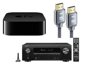 connecter son Apple TV 4K à un ampli home cinéma