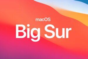telecharger macos big sur 11.0 version finale