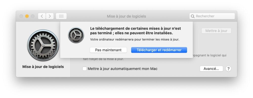 download macos catalina 10.15.7 maj supplementaire
