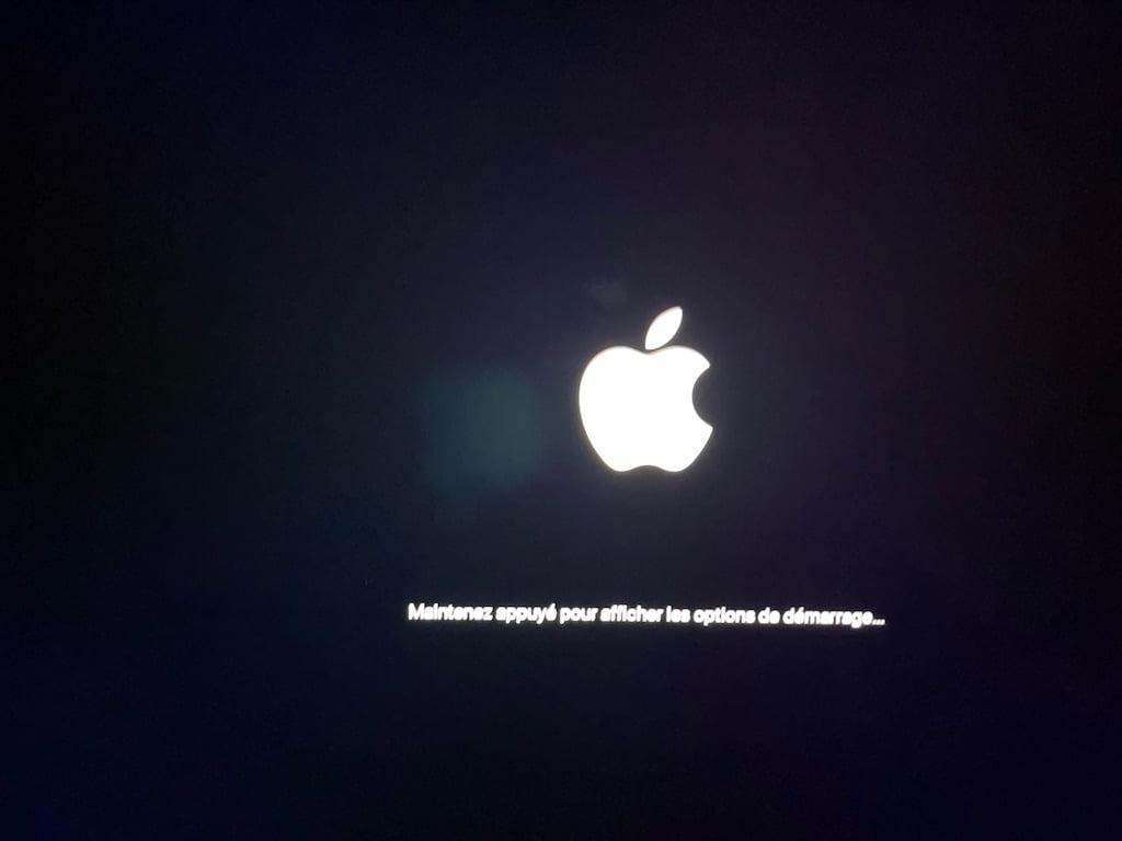 Apple Silicon en mode sans echec boot Safe mode