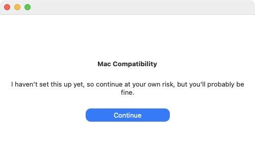 Installation macos Big Sur sur un Mac non compatible les risques