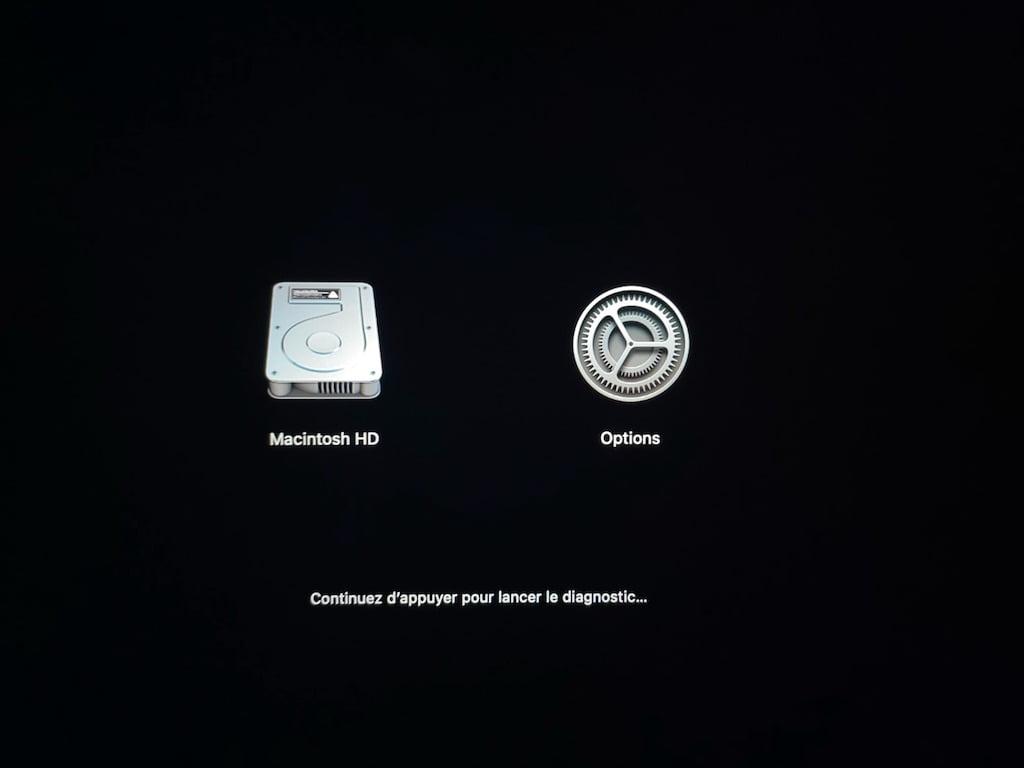 lancer diagnostics apple sur apple mac silicon