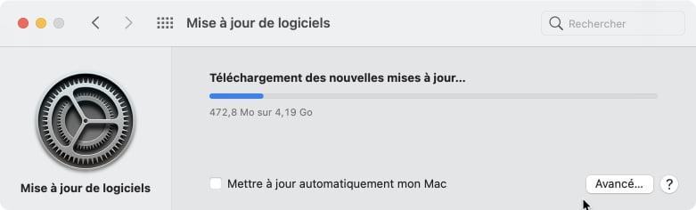telechargement macOS Big Sur 11.1