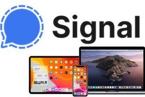 Installer Signal sur iPhone iPad Mac