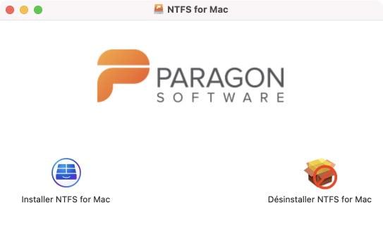 Installer les pilotes NTFS sur macOS Big Sur 11.1