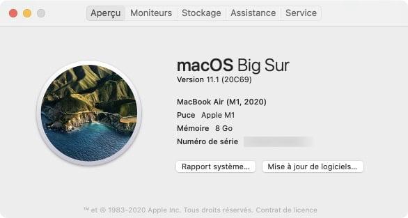 Installer windows 10 sur Mac M1 macbook air