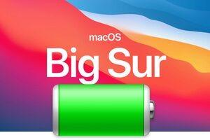 comment Afficher le pourcentage de batterie sous macOS Big Sur