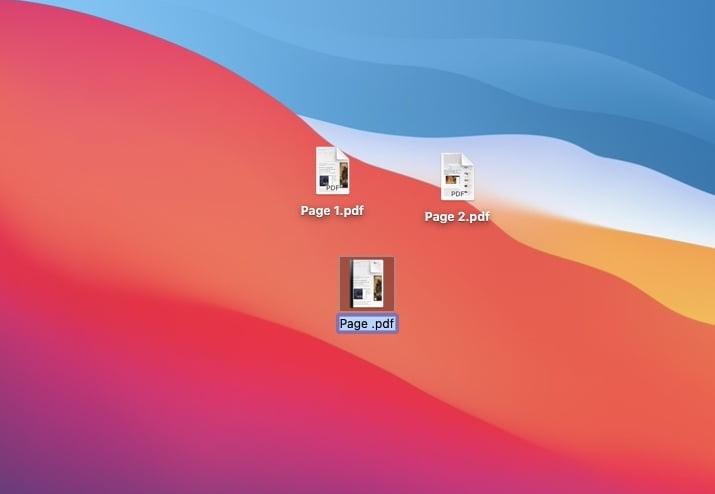 fusionner deux fichiers PDF en un seul