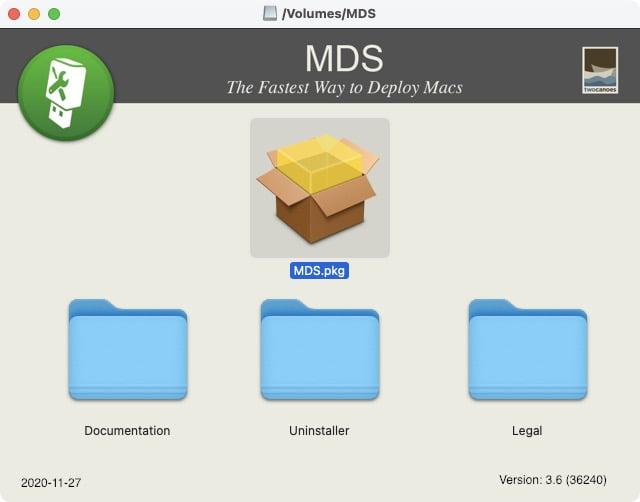 installer MDS Mac Twocanoes