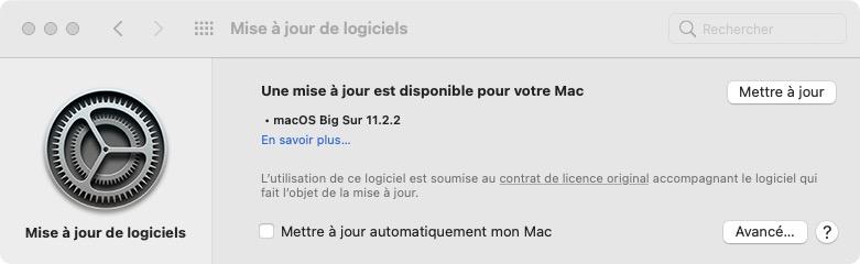 macOSBigSur 11.2.2 update
