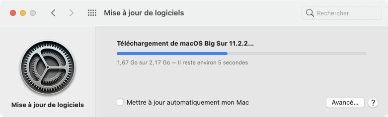telechargement macos big sur 11.2.2