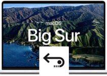 Restaurer des fichiers effacés sous macOS Big Sur (11.x)