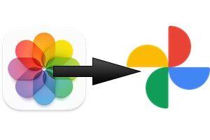 Transférer vos photos et vidéos iCloud vers un autre service (Google Photos)