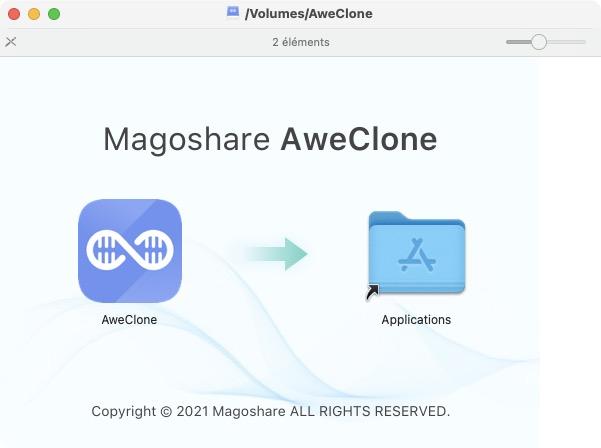 clonage disque macos big sur