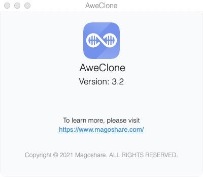 cloner le disque de son mac sur un nouveau disque avec AweClone for Mac