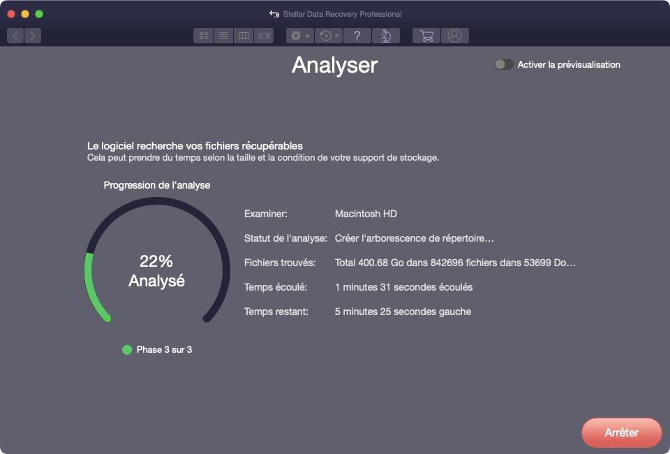 retrouver fichiers effaces par erreur sur mac