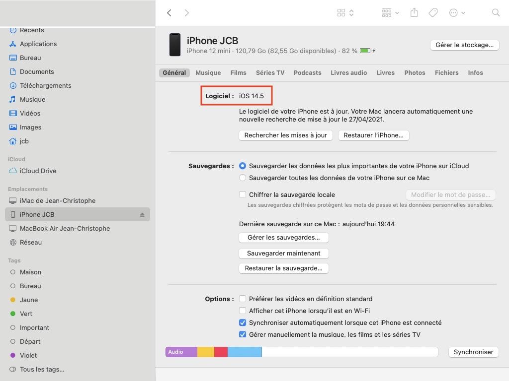 iPhone iOS 14.5 update