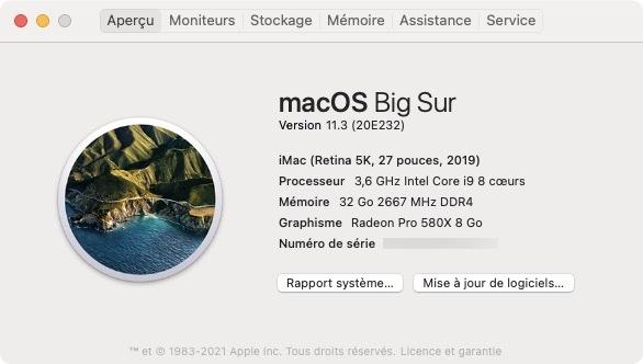 macos Big Sur 11.3 maj iMac MacBook mac mini