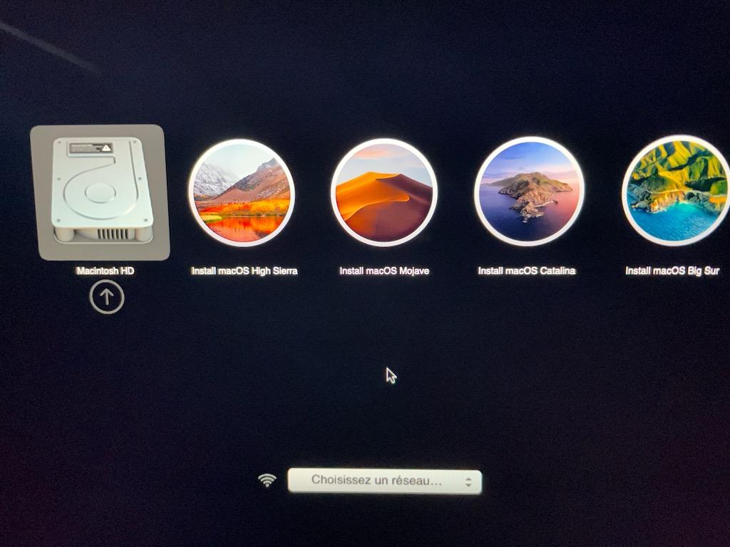 multiboot multi macos sur cle usb