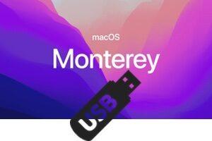 Créer une clé USB bootable macOS Monterey (12.0)