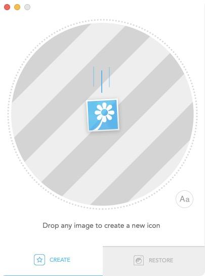 Creer une icone personnalisee sur Mac a partir d une photo