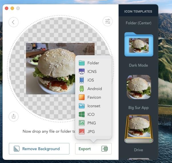 creer ses propres icones sur mac