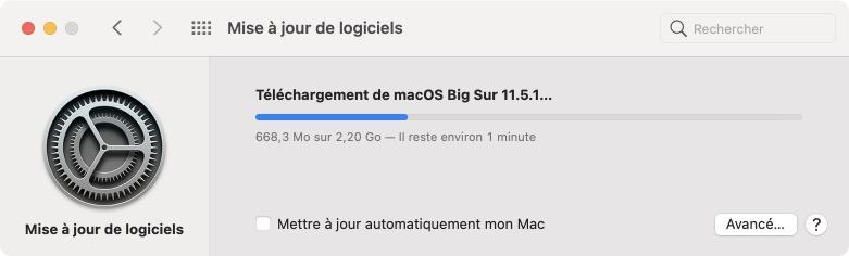 telecharger Big Sur 11.5.1