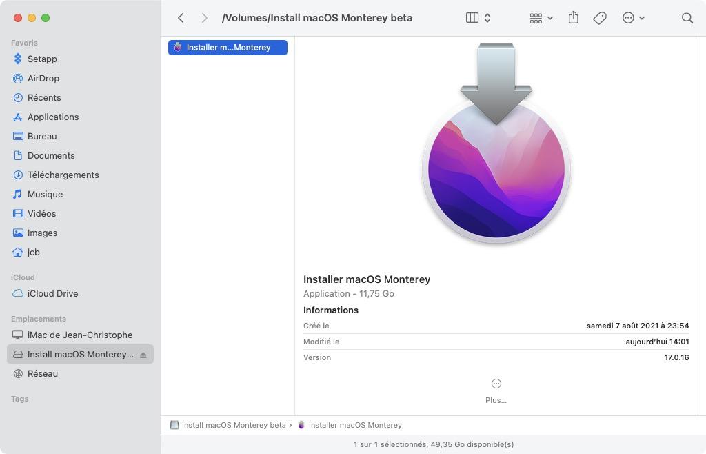 installer monterey sur ancien mac procedure tutoriel complet